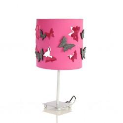 Lampka nocna motyle różowa...