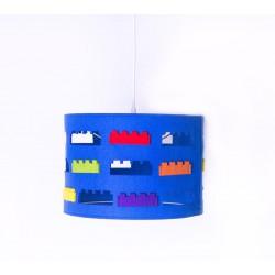 Lampa wisząca Lego Niebieska